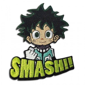 My Hero Academia Deku Smash!! Embroidered Patch Patches