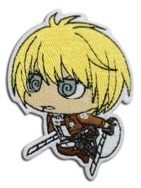 Attack On Titan S2- Armin Chibi Embroidered Patch Patches