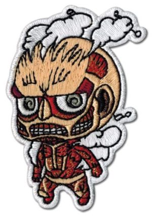 Attack On Titan – Titan Sd Embroidered Patch Patches