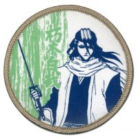 Bleach Byakuya Dull Color Embroidered Patch Patches