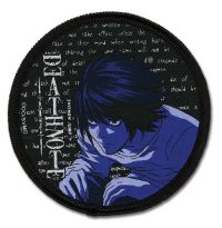 Death Note L Embroidered Patch Patches