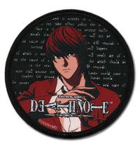Death Note Light Embroidered Patch Patches