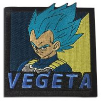 Dragon Ball Super Broly – SSGSS Vegeta Embroidered Patch Patches