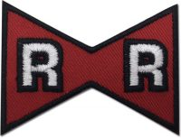 Dragon Ball Z – Red Ribbon Embroidered Patch Patches