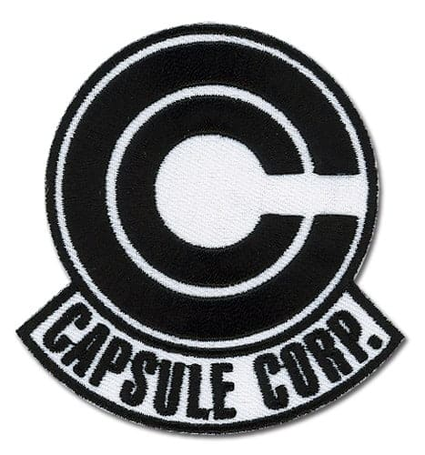 Dragon Ball Z Capsule Corp. Embroidered Patch Patches