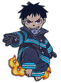 Fire Force – Shinra Sd Embroidered Patch Patches