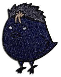 Haikyu!! – Yu Nishinoya Crow Embroidered Patch Patches