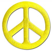 Jojo S3 – Icon #01 Peace Symbol Embroidered Patch Patches