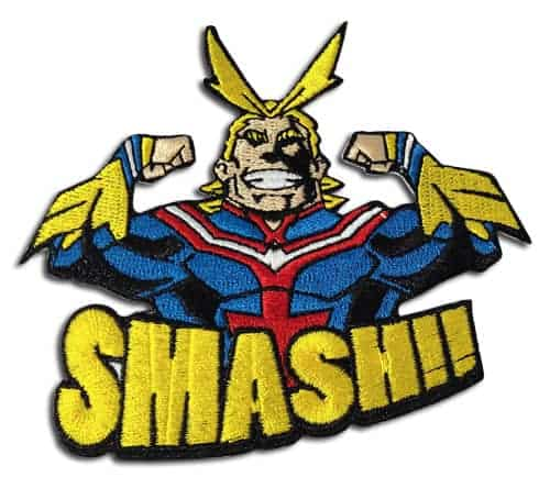My Hero Academia – All Might Smash!! Embroidered Patch Patches