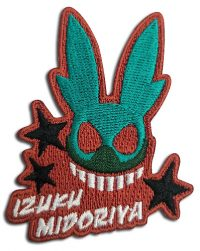 My Hero Academia – Izuku Logo Style Embroidered Patch Patches