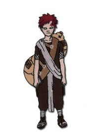 Naruto Gaara Human Form Embroidered Patch Patches
