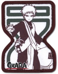 Naruto Gaara Sand Village Embroidered Patch Patches