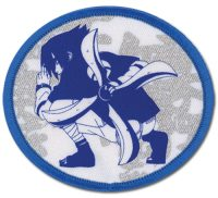 Naruto Sasuke Fighting Stand Embroidered Patch Patches