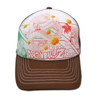 Dragon Ball Z Manga Adjustable Trucker Hat Trucker