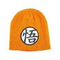 Dragon Ball Z Goku Symbol Orange Beanie Beanies