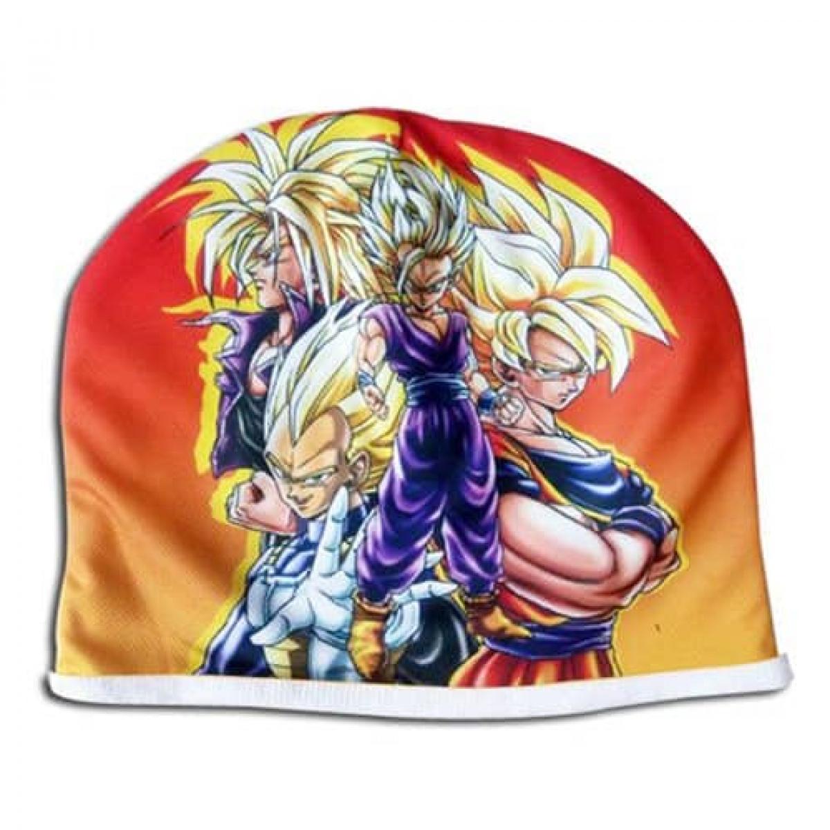 Dragon Ball Z Super Saiyans Fleece Cap Fleece Cap 4