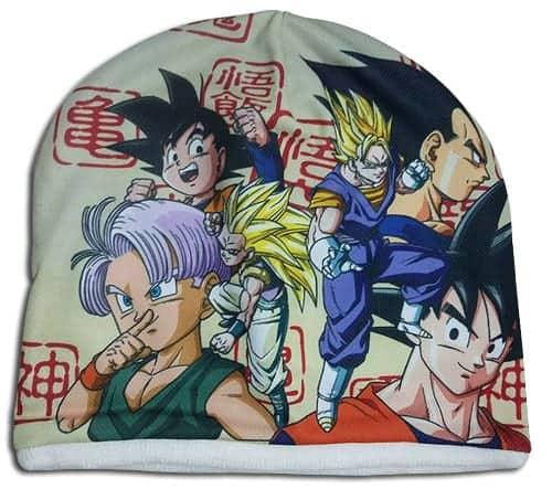 Dragon Ball Z – Fusion Fleece Sublimated Cap Fleece Cap