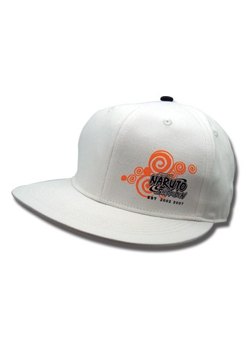 Naruto Shippuden Logo Flatbill Hat Hats 4