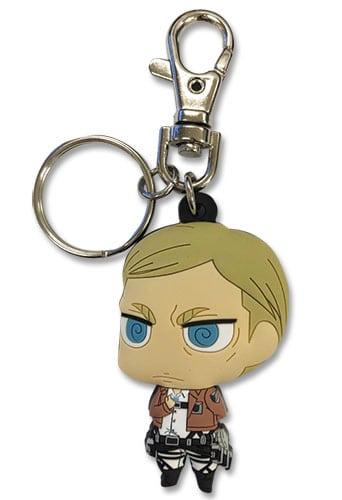Attack On Titan S2  Chibi Erwin PVC Keychain Keychains