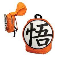 Dragon Ball Z Goku Hooded Backpack Backpacks