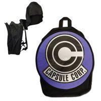 Dragon Ball Z Capsule Corp. Hooded Backpack Backpacks
