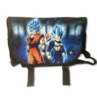 Dragon Ball Fighterz Goku vs Vegeta Messenger Bag Messenger Bags