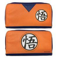 Dragon Ball Z Goku Dougi Jrs. Zip Wallet Wallets