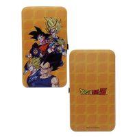 Dragon Ball Z Goku and Vegeta Hinge Wallet Wallets