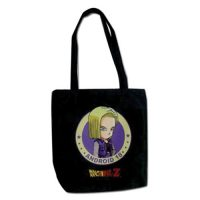 Dragon Ball Z Android 18 Tote Bag Tote Bags