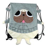 Kill la Kill Gattsu Plush Drawstring Bag Drawstring Bags