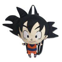 Dragon Ball Z Goku 12-Inch Plush Backpack Backpacks