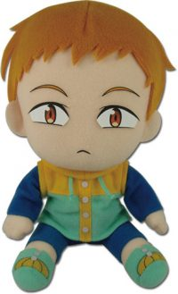 The Seven Deadly Sins Fairy King Harlequin Sitting Pose 7″ Plush Anime Plushies