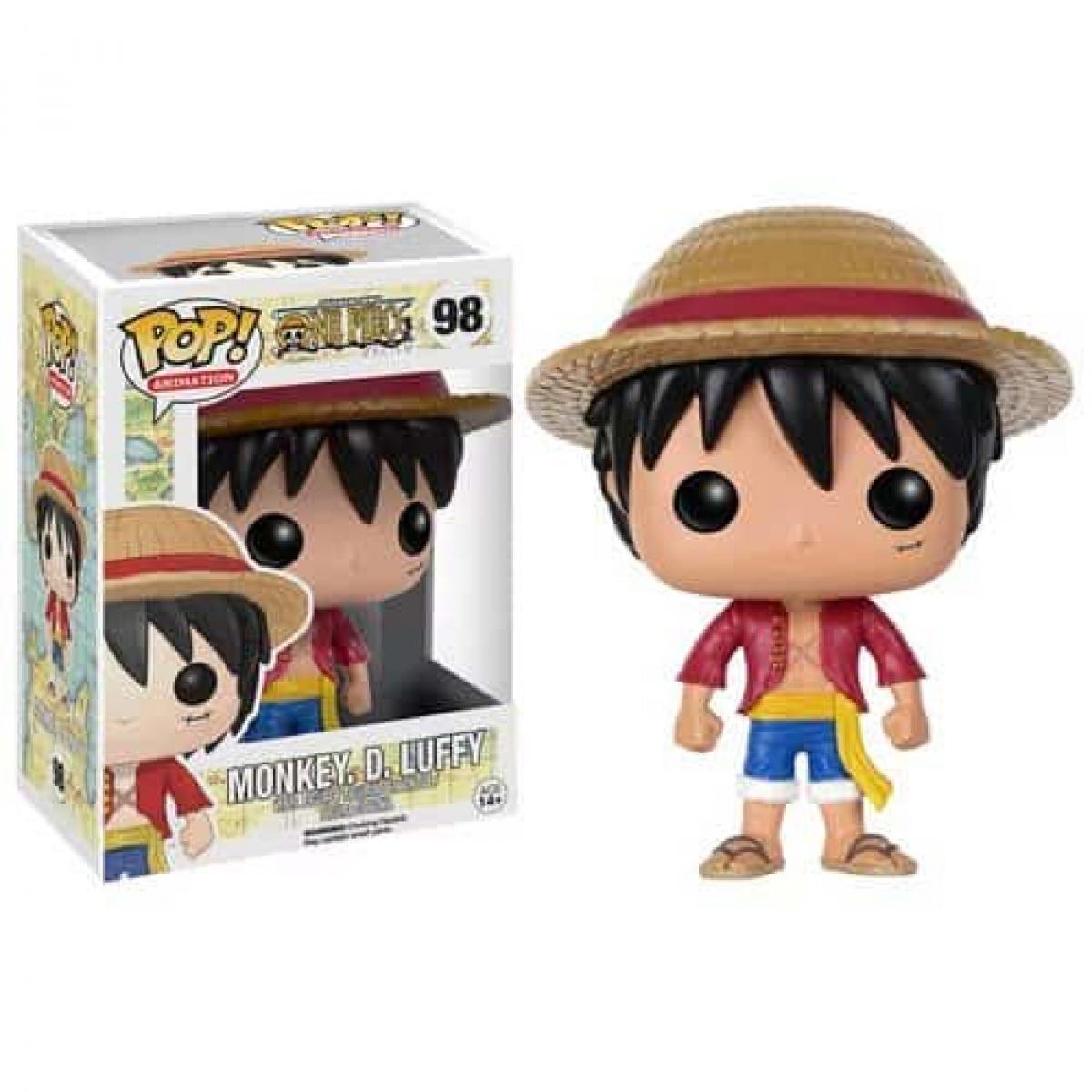 One Piece Monkey D. Luffy Pop! Vinyl Figure Figures 4