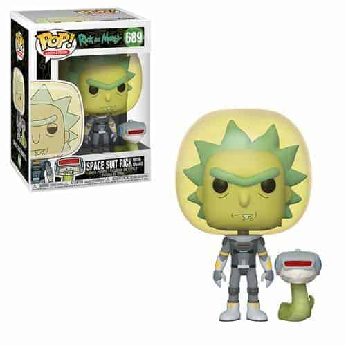 Funko Pop! Rick and Morty Space Suit Rick With Snake Pop! Vinyl Figure Figures