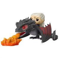 Funko Pop! Game of Thrones Daenerys on Fiery Drogon Pop! Vinyl Vehicle Figures