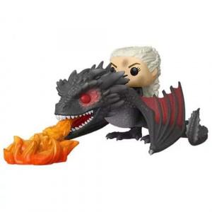 Funko Pop! Game of Thrones Daenerys on Fiery Drogon Pop! Vinyl Vehicle Figures