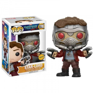 Funko Pop! Guardians of the Galaxy Vol. 2 Star-Lord (Chase) Pop! Vinyl Figure Figures