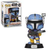 Star Wars: The Mandalorian Heavy Infantry Mandalorian Pop! Vinyl Figure Figures