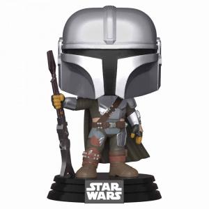 Star Wars: The Mandalorian – Mandalorian Pose Metallic Pop! Vinyl Figure Figures