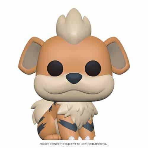 Funko Pop! Pokemon Growlithe Pop! Vinyl Figure Figures
