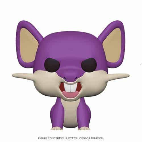 Funko Pop! Pokemon Rattata Pop! Vinyl Figure Figures