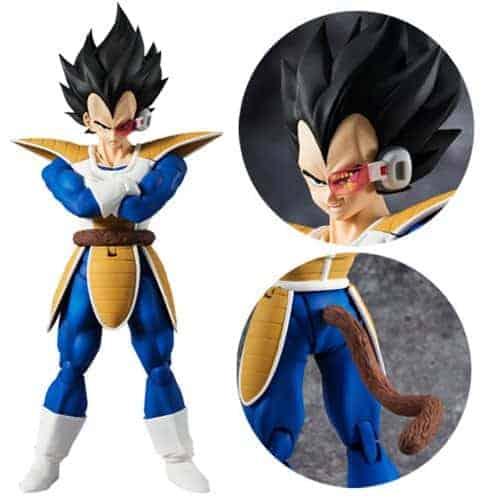 Dragon Ball Z Vegeta SH Figuarts Action Figure Action Figures