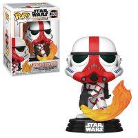 Star Wars: The Mandalorian Incinerator Stormtrooper Pop! Vinyl Figure Figures