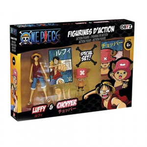 One Piece Luffy and Chopper 5″ Action Figure Set Action Figures