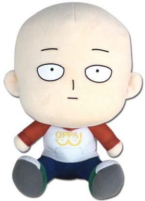 One Punch Man Saitama in Casual Oppai Clothes 7″ Plush Plushies