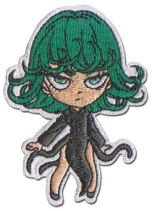 One Punch Man Tornado Embordered Patch Patches
