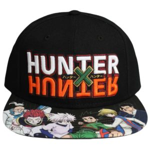 Hunter X Hunter Logo Flat Bill Snapback Hat Snapback
