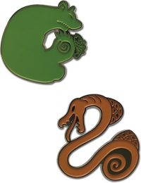 The Seven Deadly Sins – Sin of Envy & Sin of Sloth Pin Sets Pins