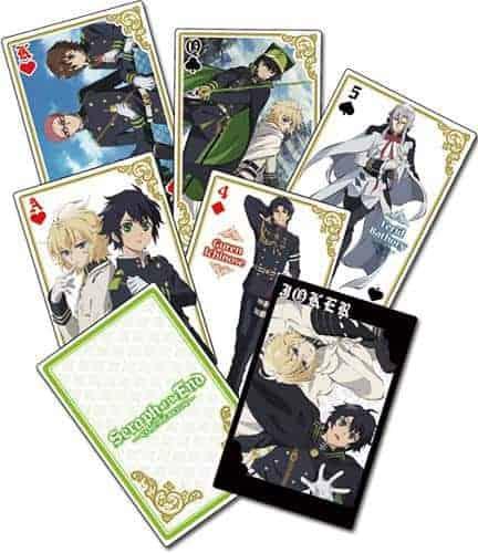 Seraph of the End Group Playing Cards Playing Cards