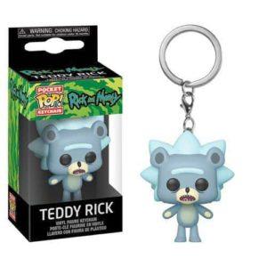 Rick and Morty Teddy Rick Pocket Pop! Keychain Keychains